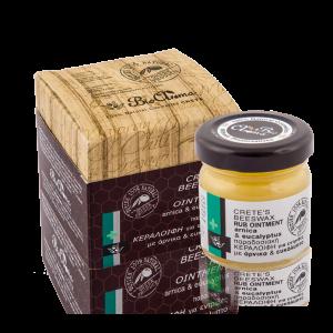 Bijenwas zalf voor spierpijn en verkoudheid / 40ml