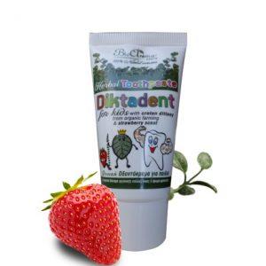 Diktadent, natuurlijke tandpasta voor kinderen / 50ml
