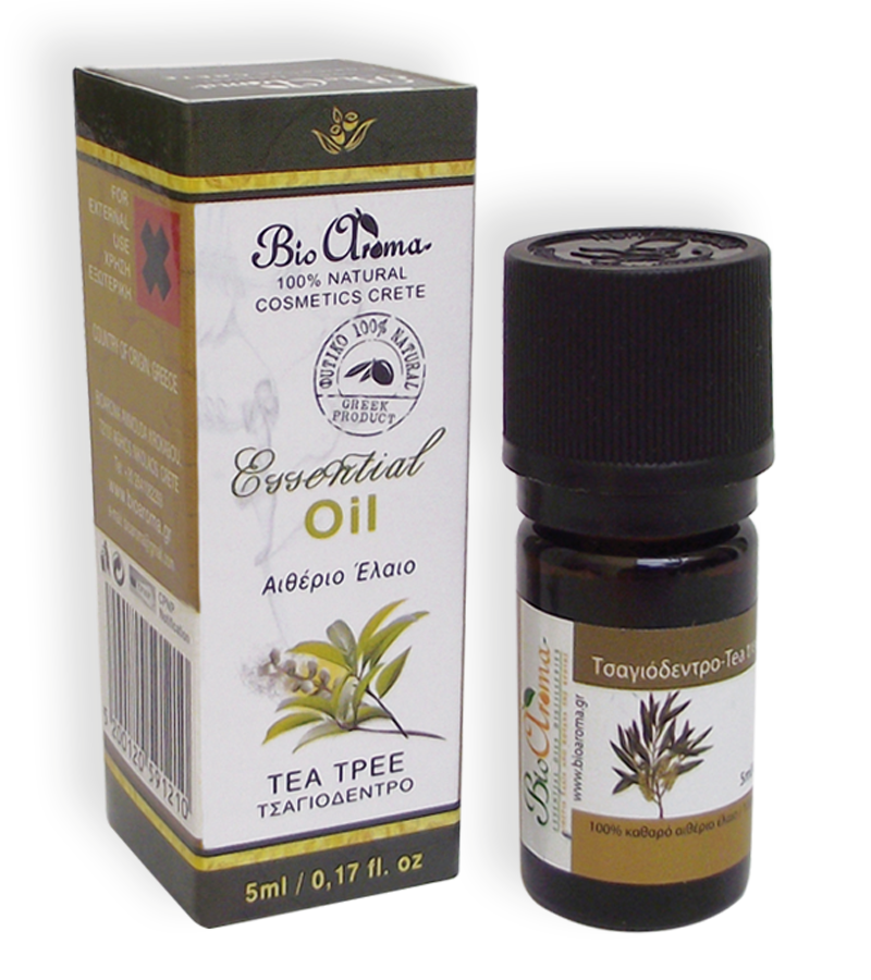 Etherische olie tea tree