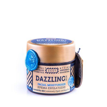 Zest Dazzling natuurlijke 24h gezichtscrème voor droge huid
