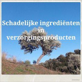schadelijke ingrediënten