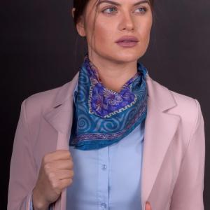 Handgemaakte Griekse zijden sjaal accessoire 50×50
